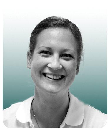 Rikke Lahn, spesialist i ortopedisk fysioterapi